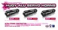 HUDY ALU SERVO HORN - HITEC - 2-HOLE  - 24T - 293498