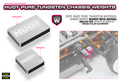 HUDY PURE TUNGSTEN WEIGHT 10g - 293082